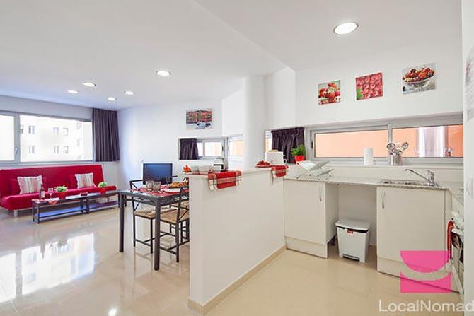 люстры и светильники в кухню-гостиную 39