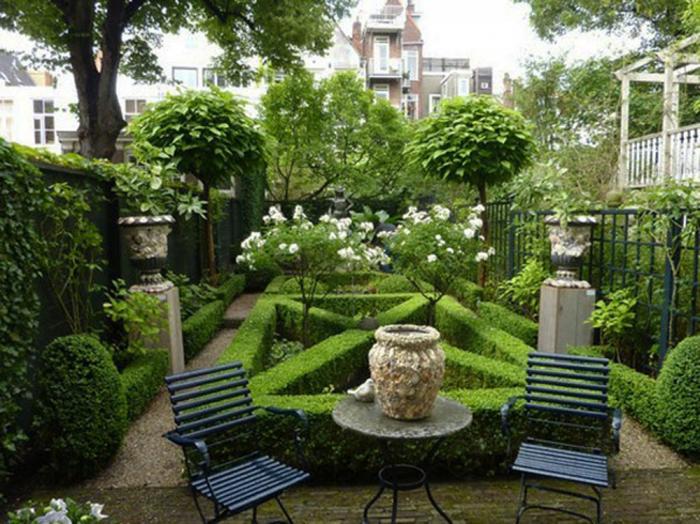 Как оформить сад на даче