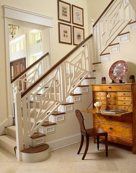Лестницы в стиле прованс