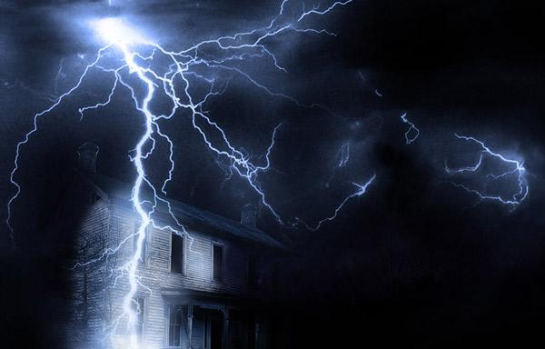 молниезащита дома