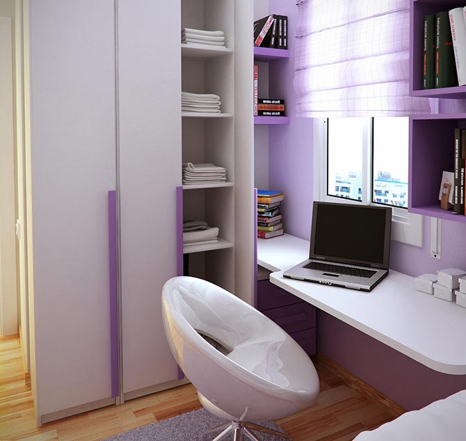 маленькая детская комната фото 27