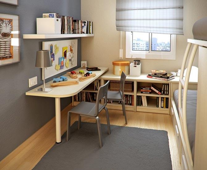маленькая детская комната фото 37