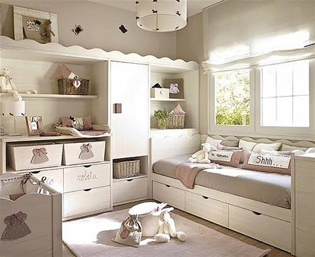 маленькая детская комната фото 38