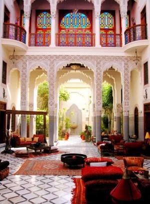 марокканский стиль архитектура фото 24