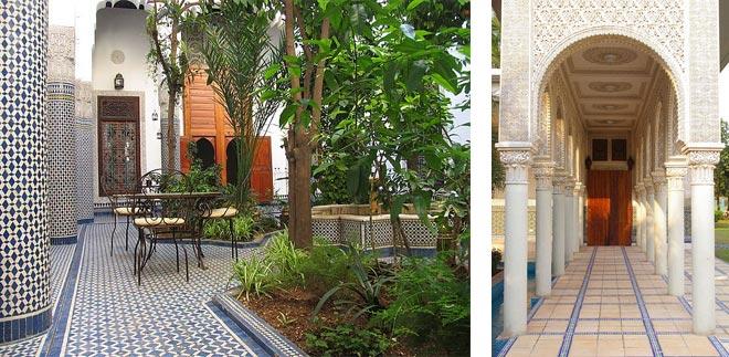 марокканский стиль архитектура 35