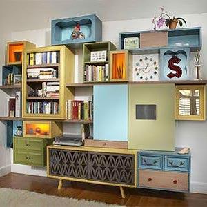 мебель из картона 31