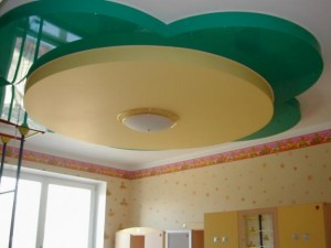 многоуровневые потолки фото 1