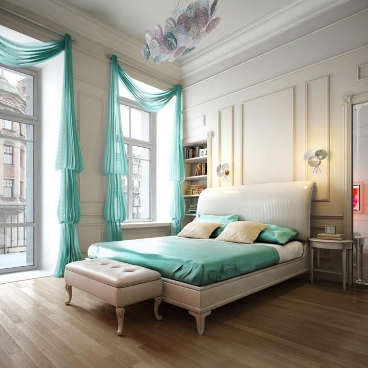 Какого цвета шторы выбрать в спальню?