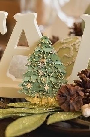 новогоднее украшение своими руками 003