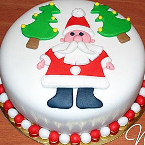 новогодние торты 08
