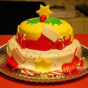 новогодние торты 09