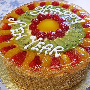 новогодние торты 34