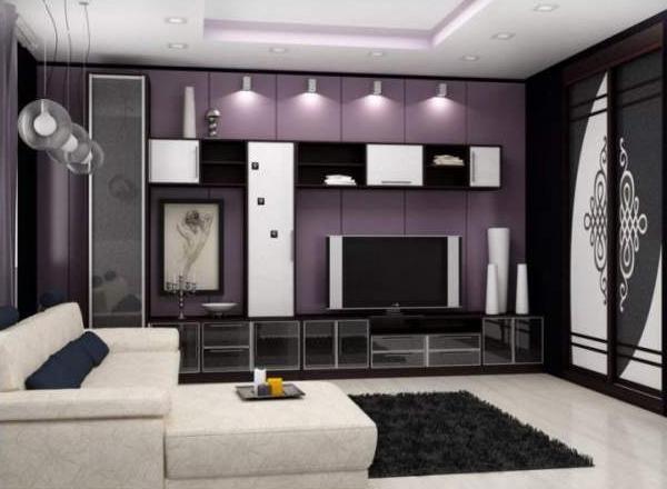 Дизайн обоев для зала 2