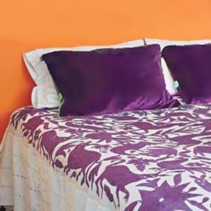 оранжевые стены фото 111