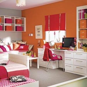 оранжевые стены фото 26
