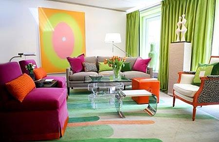 оранжевый и фиолетовый 27