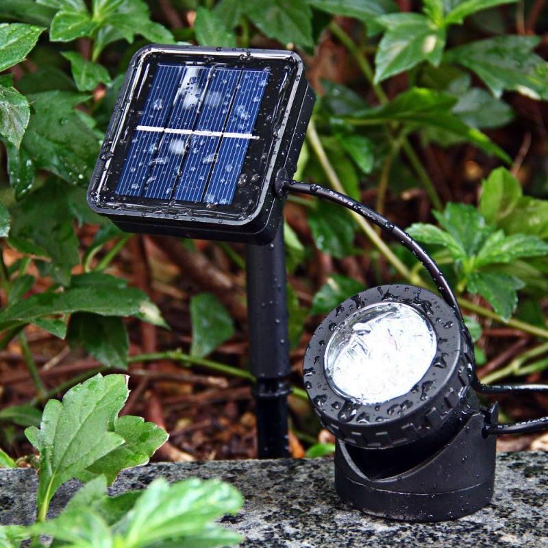 Прожектор на солнечной энергии