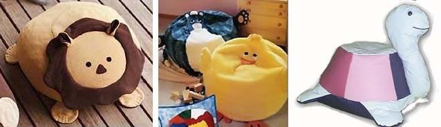 пуфики в детской комнате 05