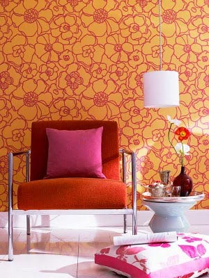 розовый и оранжевый 03