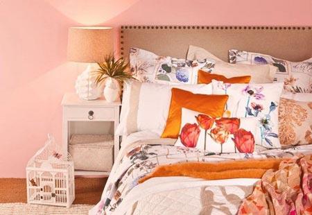 розовый и оранжевый 07