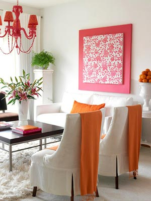 розовый и оранжевый 10