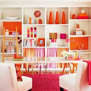 розовый и оранжевый 11
