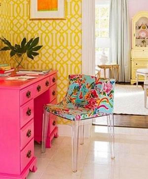 розовый и желтый 36