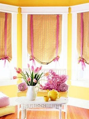 розовый и желтый 38