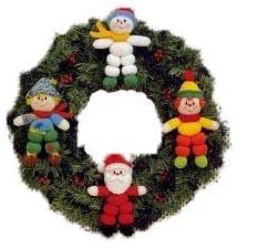 рождественский венок 009