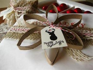 рождественский венок своими руками из картона 06