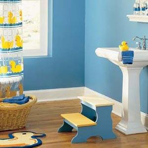 сочетание голубого и желтого 14
