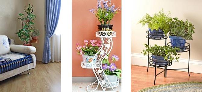 стойки для цветов 10