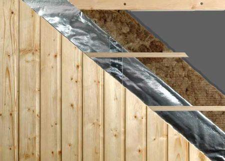 Теплоизоляция каркасной бани - теплоизоляция потолка