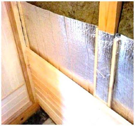 Теплоизоляция каркасной бани - защита от пара
