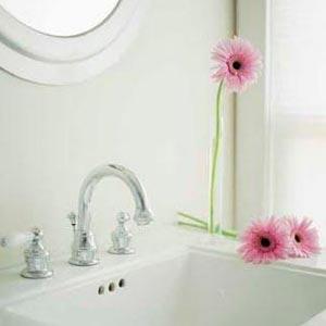 цветы в ванной комнате 06