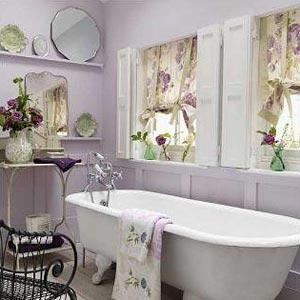 цветы в ванной комнате 07