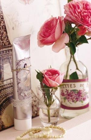 цветы в ванной комнате 09