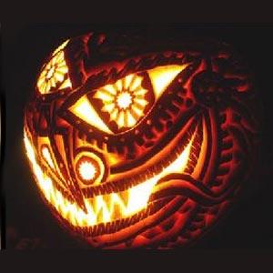 тыква на хэллоуин 15