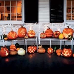 украшение дома к хэллоуину 12