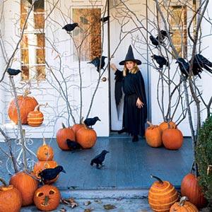 украшение дома к хэллоуину 7