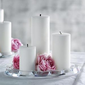 украшение стола цветами и свечами фото20