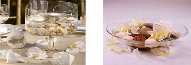 украшение стола цветами и свечами фото22