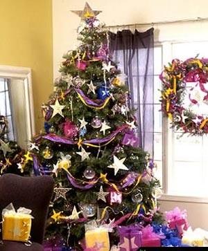 украсить новогоднюю елку 007