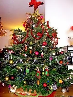 украсить новогоднюю елку 013
