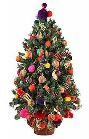 украсить новогоднюю елку 015