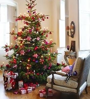 украсить новогоднюю елку 016