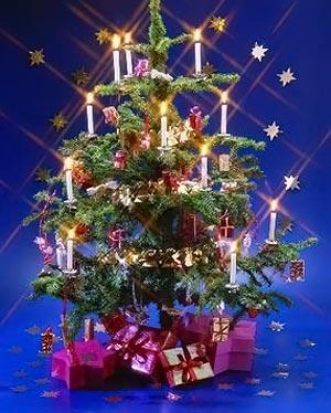 украсить новогоднюю елку 017