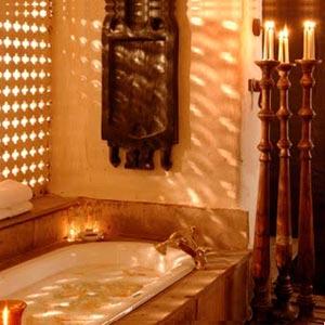 ванная комната в марокканском стиле 12