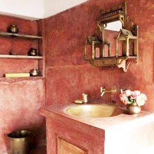 ванная комната в марокканском стиле 18