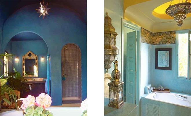 ванная комната в марокканском стиле 2